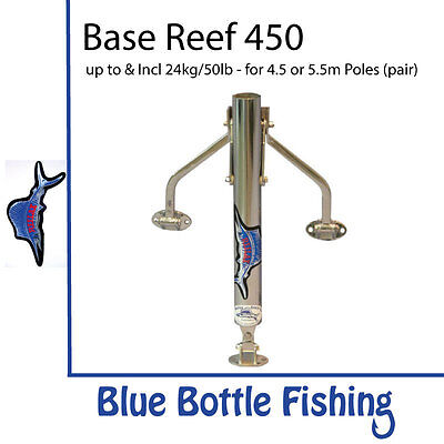 NEW Reelax - Outrigger Base - Reef 450 (Pair) from Blue Bottle Fishing
