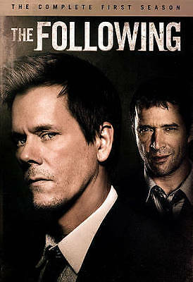 The Following: The Complete First Season 1 One 1st (DVD, 2014, 4-Disc Set) New