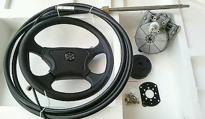 4.26m / 14ft Universal BOAT STEERING WHEEL SYSTEM QUICK CONNECT STEERING KIT