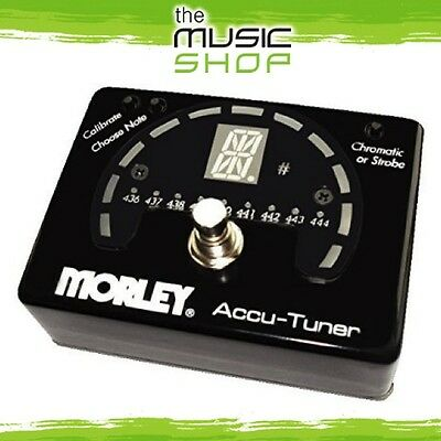 New Morley AC-1 Accu-Tuner Guitar Tuner Pedal - AC1