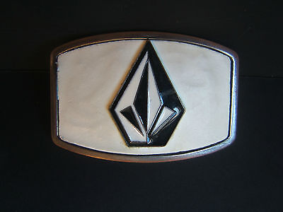 Black and White Volcom Belt Buckle Free Shipping