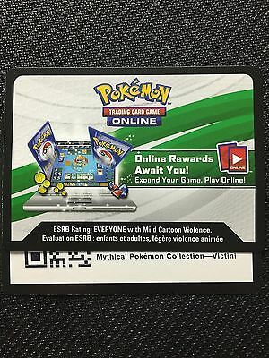 Pokemon Mythical Victini XY117 Box TCGO Online Code (Generations Booster x2)