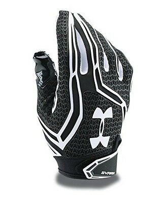 Under Armour Men's Swarm II Football Gloves, Black (001), X-Large