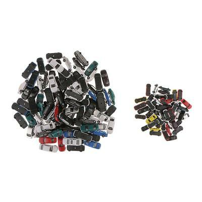 150pcs Painted Cars Veichles Models for Train Scenery Building 1:100 1:150