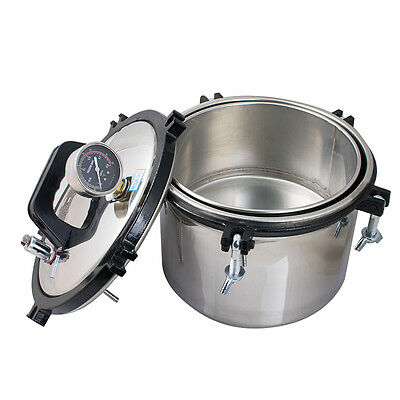 FDA 8L Steam Autoclave Sterilizer sterilization Dental Equipment high quality