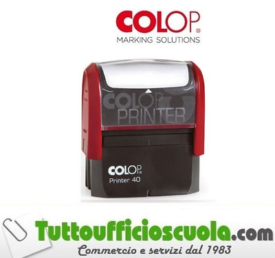 Timbro Colop Autoinchiostrante Da Personalizzare Printer 40