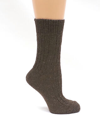 Womens Very Warm Thermal Thick Heavy duty Camel Wool Boot SocksWinter Hiking