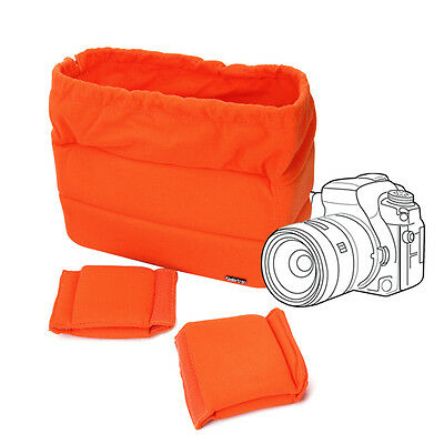 Mini Shockproof DSLR SLR Camera Bag Insert Case Protect Bag For Canon Nikon Sony