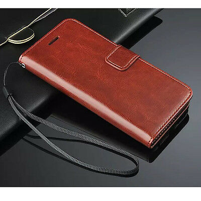 Luxury Magnetic Flip Leather Case Wallet Cover For Apple iPhone & Samsung Galaxy