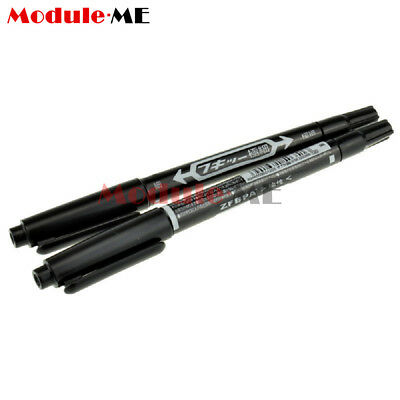 2Pcs CCL Anti-etching PCB circuit board Ink Marker Pen For DIY PCB ME