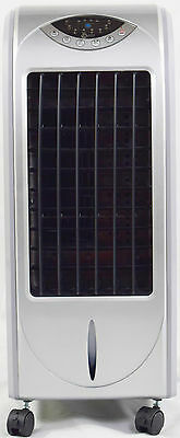 Air Cooler,Air Purifier,Humidifier, LCD,Remote Control,Ice Packs, Silver