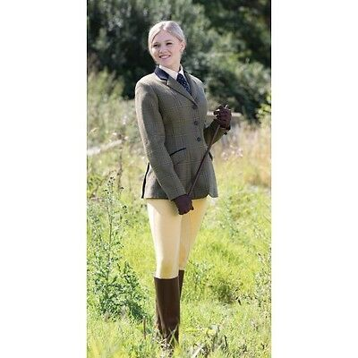 Equetech - Stowe Deluxe Tweed Riding Jacket - Quality Equestrian Hacking Jacket