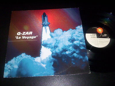 """Q-Zar  –  Le Voyage 12"""" In Lite – INR 995-016 made in Italy 1995"""