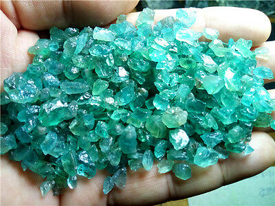 100g Blue Green Apatite Crystal Stone Natural Rough Mineral Specimens wholesale