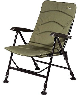 Wychwood Solace Padded Back Comforter Recliner Mattress Foldable Fishing Chair