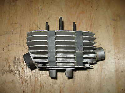 Vintage Air Cooled 55Mm Bore Cylinder Puch?  Vintage Moto   Freeship Us+Can