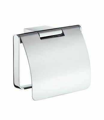 Smedbo Air Toilet Roll Holder  With Lid AK3414