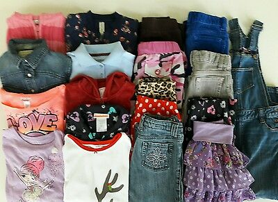 Girls Size 6 Fall Clothes Lot Of 19 Items School Clothes Lot 2-16