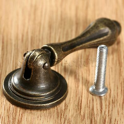 1Pc Antique Brass Dresser Drawer Furniture Cabinet Pull Handle Knob Decoration
