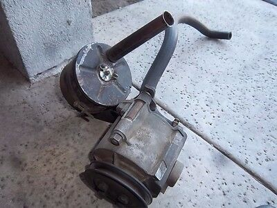 1966 Ford Mustang smog pump good used complete with hoses, valve, brackets