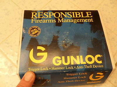 Universal Gunlock  Anti Theft Device Fits All Firearms Lock Made In Canada