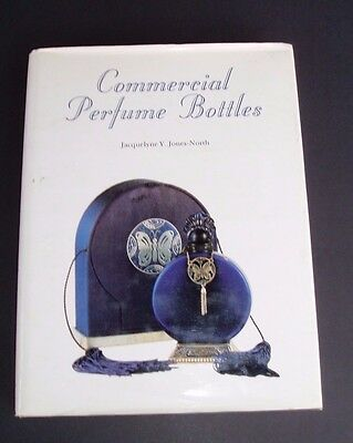 Commercial Perfume Bottles Book Jacquelyne Y. Jones-North Hardcover Book