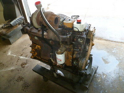 5.9 L Cummins Engine Motor Diesel 6 Cyld 6Bt B Series With Up Mounted Turbo