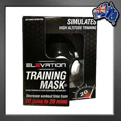 ELEVATION TRAINING MASK 2.0 High Altitude Training for Boxing MMA UFC RUNNING