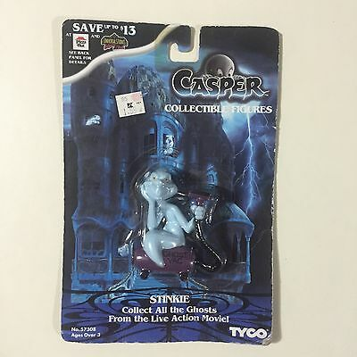 1995 CASPER BENDABLES TYCO Collectible Figure STINKIE - New & Free Ship!
