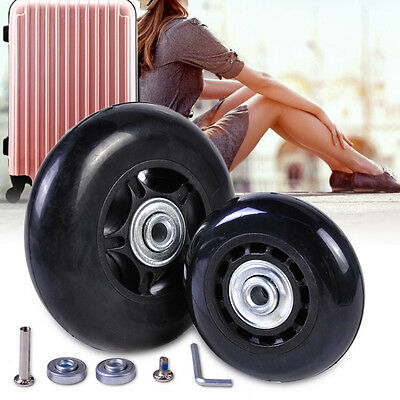 Replacement luggage inline skate wheels for OD 60/64/68/70/75/80mm