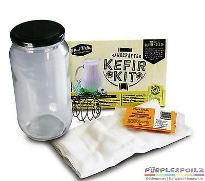 NEW MAD MILLIE KEFIR KIT Culture Cultures Milk Drink Cheese