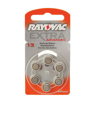 NEW Rayovac Extra Hearing Aid Batteries Size 13 from Hearing Savers
