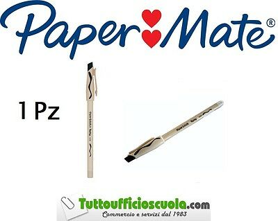 Penne a sfera cancellabili PAPER MATE REPLAY 1 pz NERO - cancell penna