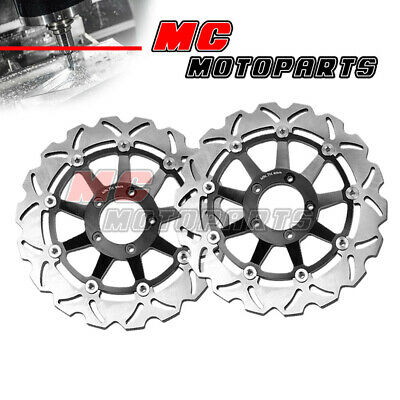 Racing Front Brake Disc Rotor x2 For HONDA CBR1000RR 2004 2005