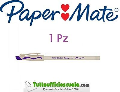 Penne a sfera cancellabili PAPER MATE REPLAY 1 pz VIOLA - cancell penna
