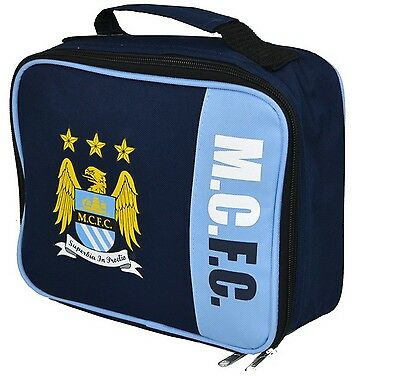 Manchester City Wordmark Lunch Bag