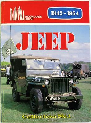 Jeep Collection No.1 1942 - 1954 - R M Clarke Isbn:0907073549 Car Book