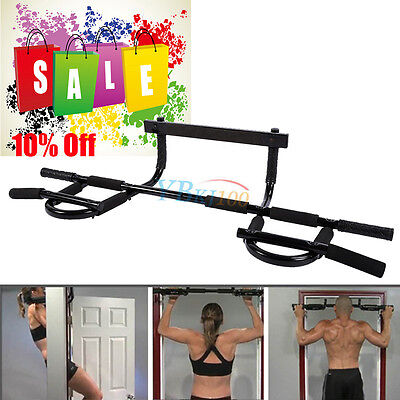 Door Gym Bar Chin Up Pull Push Up Strength Fitness Situp Dips Workout Exercise