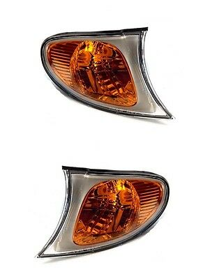 2 Clignotants Avant Amber V2 Bmw Serie 3 E46 Break Ph2 Pack M 09/2001-02/2005