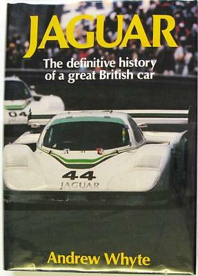 Jaguar The Definitive History Of A Great British Car - Whyte Isbn:0850597463
