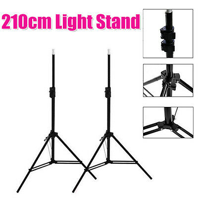 2x2.1m Heavy Duty Photo Studio Softbox Umbrella Support Light Stand Tripod Pro