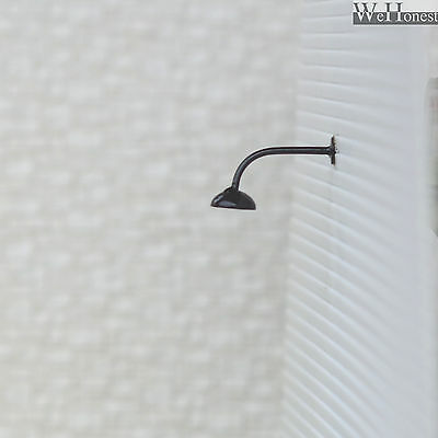 5 x OO / HO scale street lights Model building wall lamps LED lamp posts #R45BL