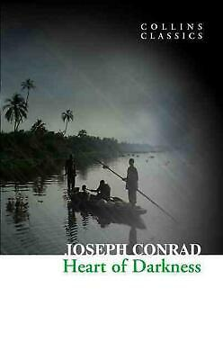 Heart of Darkness by Joseph Conrad (English) Paperback Book Free Shipping!