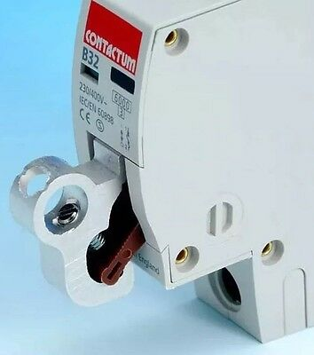 MCB Miniature Circuit Breaker Lockout Lock Off Device For Most Circuit Boards