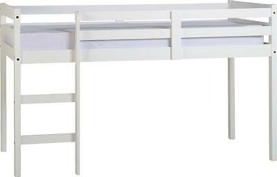 Panama White 3' Single Mid Sleeper Bed Frame *Free Next Day Delivery*