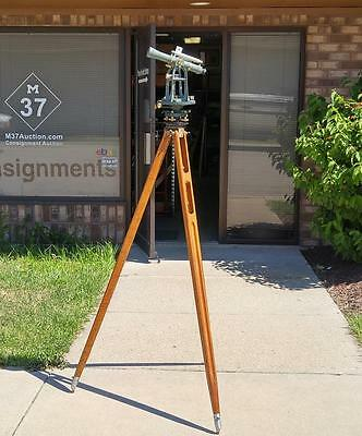 1972 Keuffel & Esser Surveying Transit Theodolite with Tripod and Case- EUC