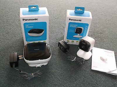 D09021601 Panasonic Smart Home Monitoring System Baby Monitor Kit Security Camer