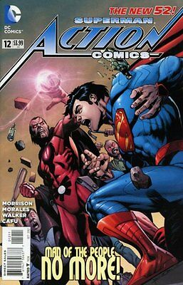 Action Comics Issue 12 - First Print Grant Morrison - Dc Comics New 52 Superman