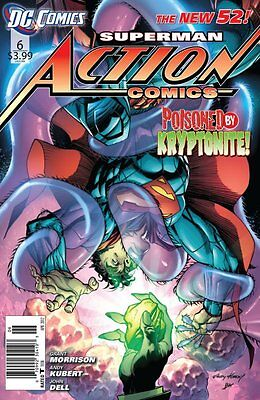 Action Comics Issue 6 - First Print Grant Morrison - Dc Comics New 52 Superman