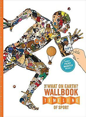 What On Earth? Wallbook Timeline Of Sport Lloyd  Christopher 9780993019975